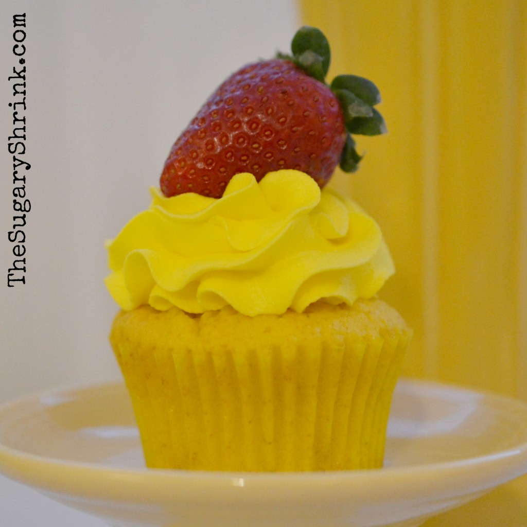 lemon cupcake strawberry 853 insta