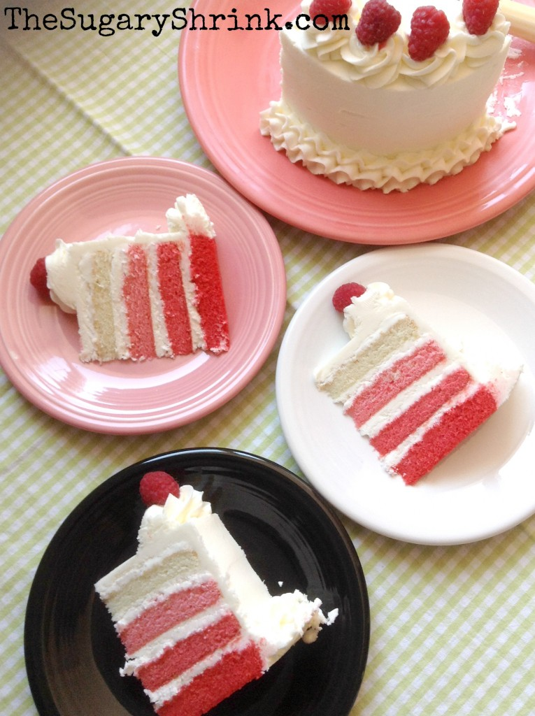 red ombre vanilla slices tss