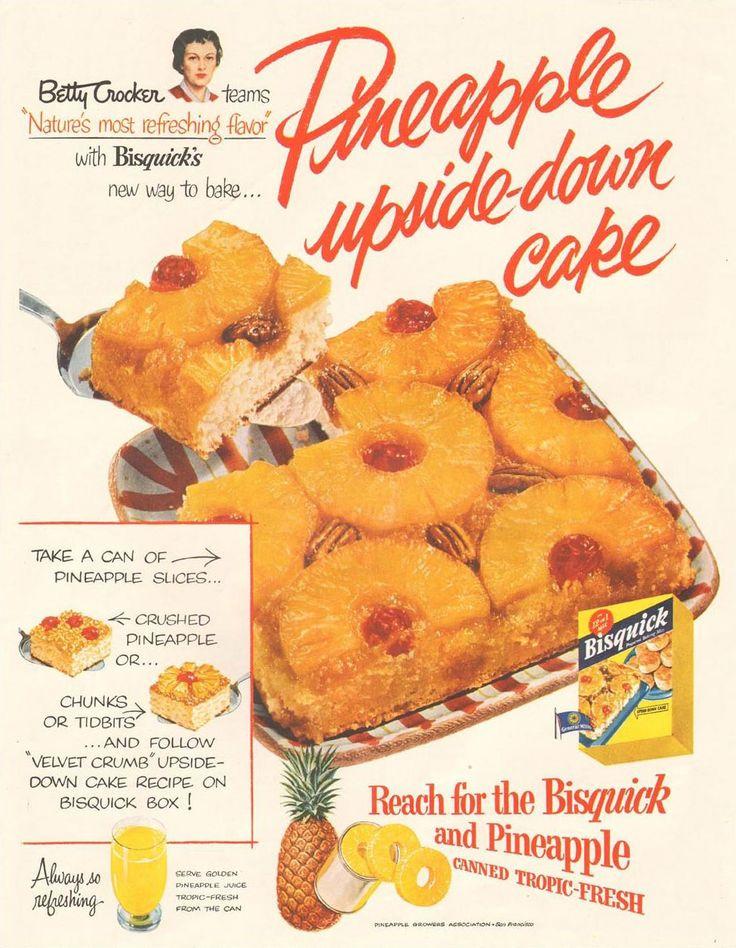 retro cake pineapple 1