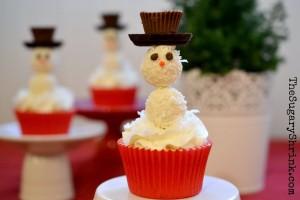 snowman cupcake solo 242 tss