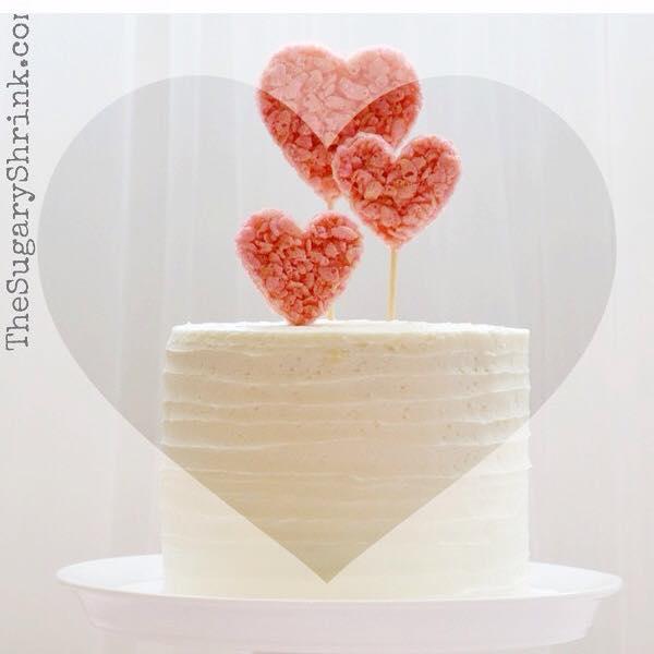 valentine cake heart insta