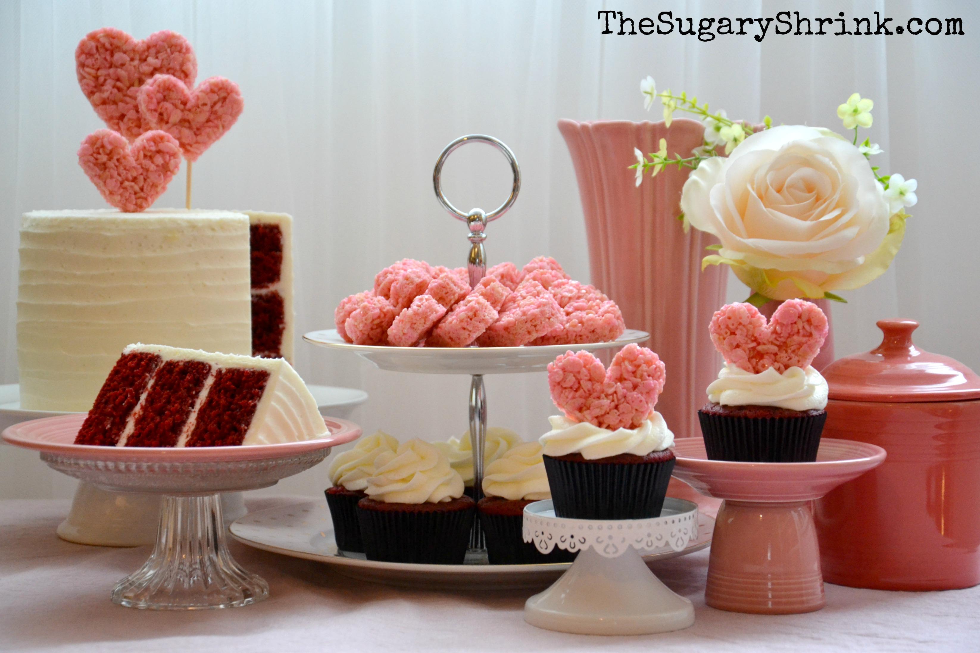 valentine cake set up 067 tss