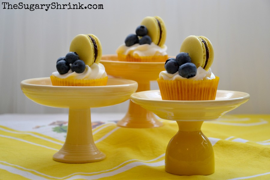 lemon cupcake blueberry mac 778 tss
