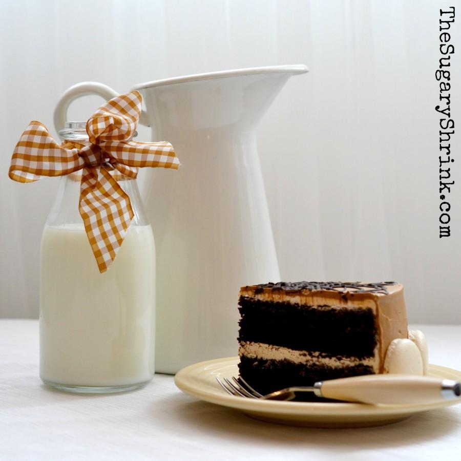 mocha choc cake 142 insta