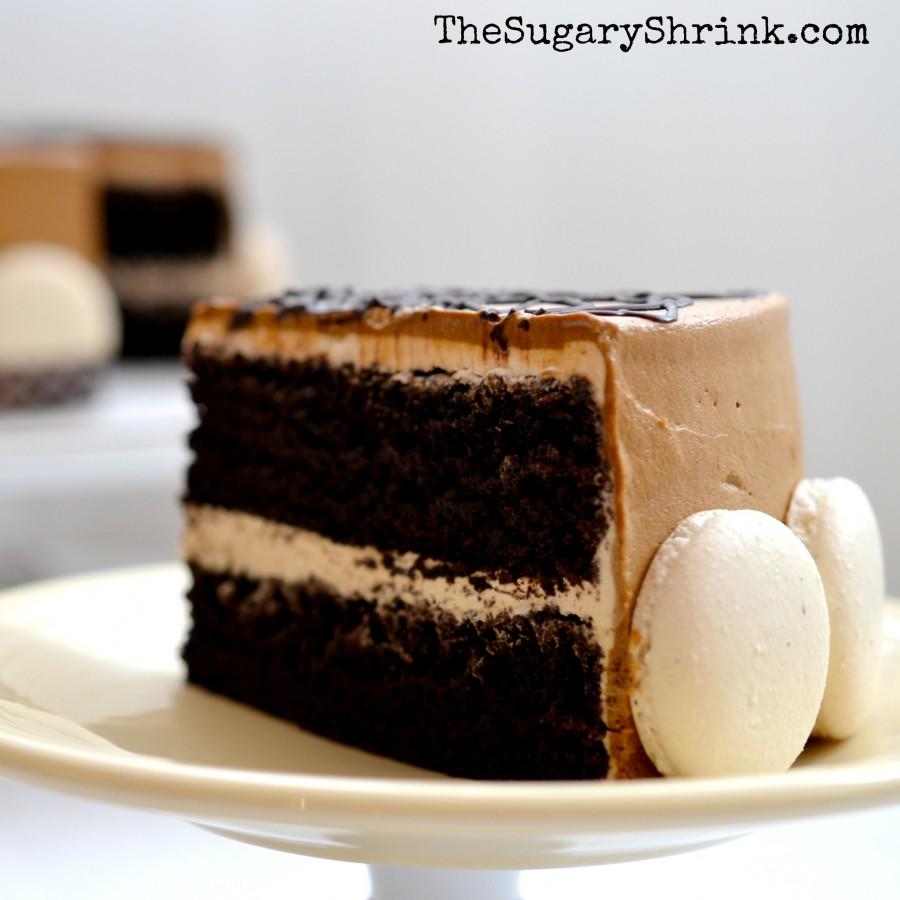 mocha choc cake 168 insta