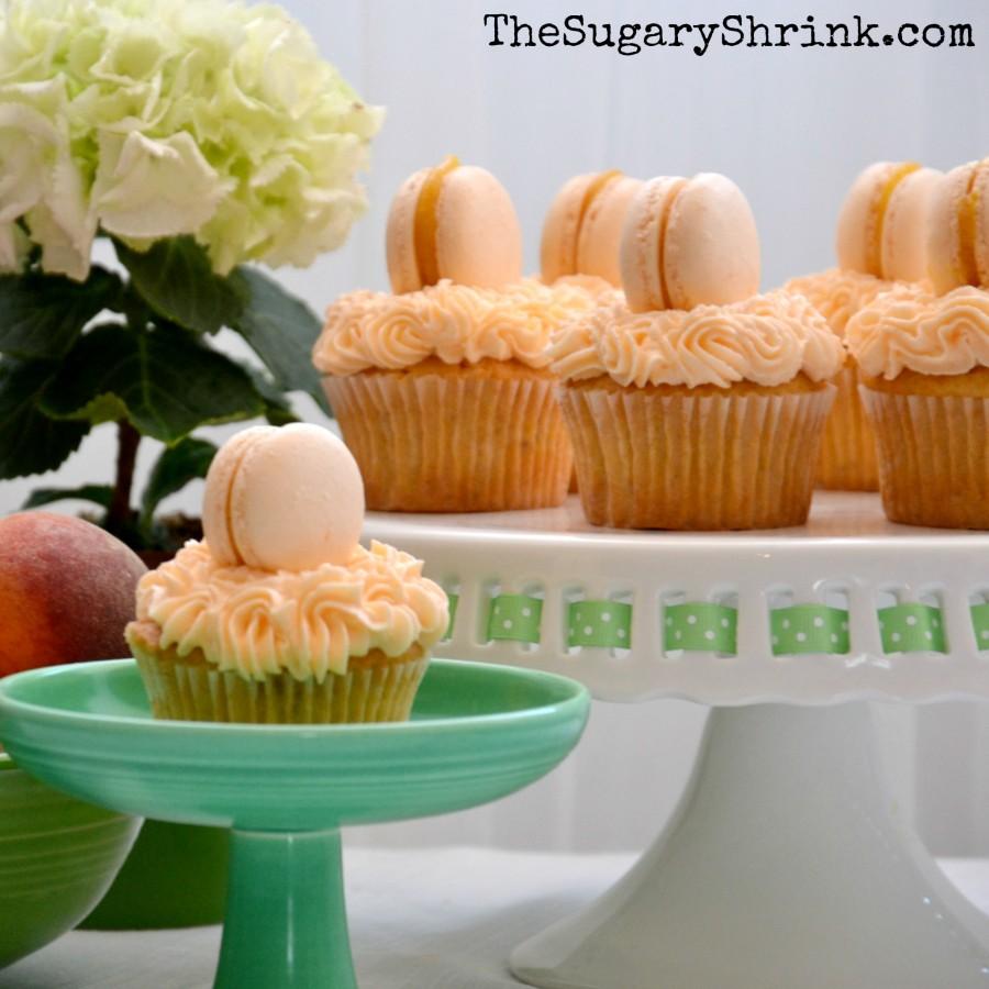 peach cupcakes 681 insta