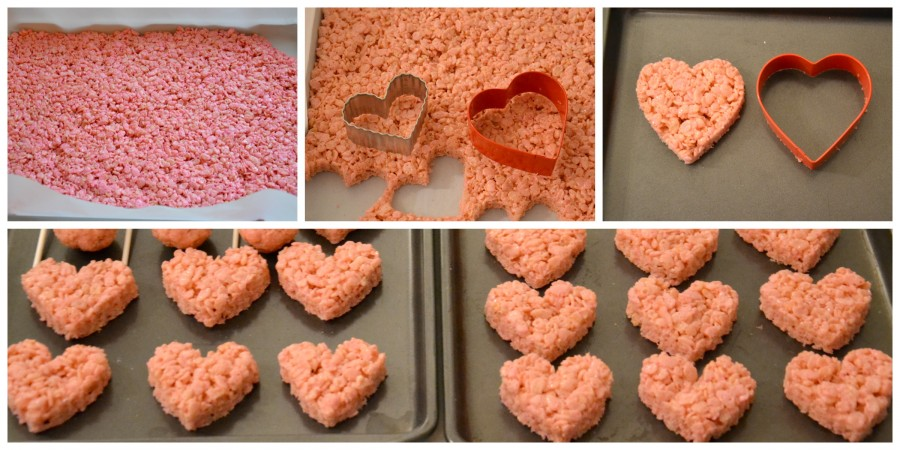 pink rice krispies