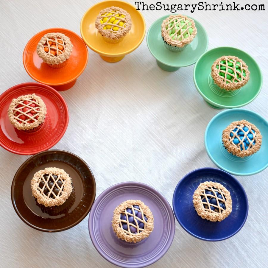 rainbow cupcake circle 720 insta
