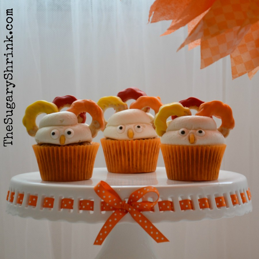 turkey cupcake candy melt cookies 850 insta
