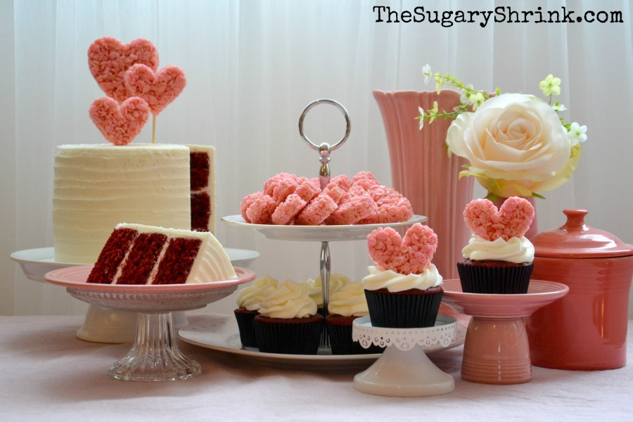 valentine cake set up 070 tss