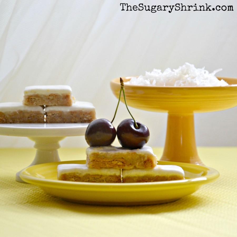 lemon coconut no bake cherry 111 insta
