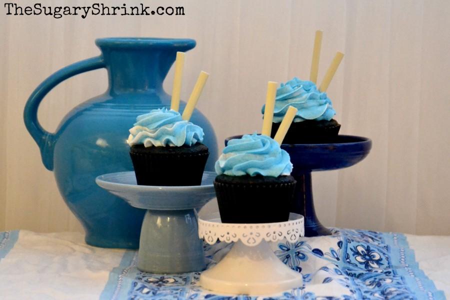 venice blue cupcakes 100 tss