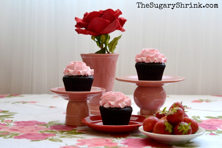 venice strawberry choc cupcake 863 tss