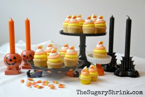 Candy Corn Cupcakes 2013
