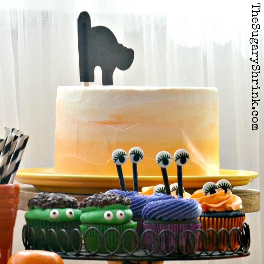 halloween cake choc insta