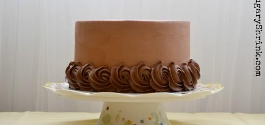 yellow cake choc 170 tss