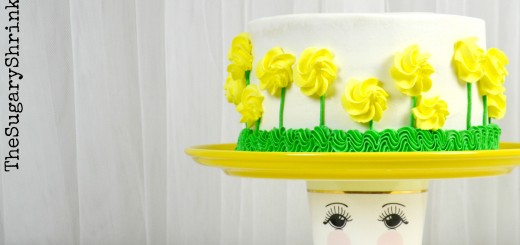 almond yellow rose cake 852 tss