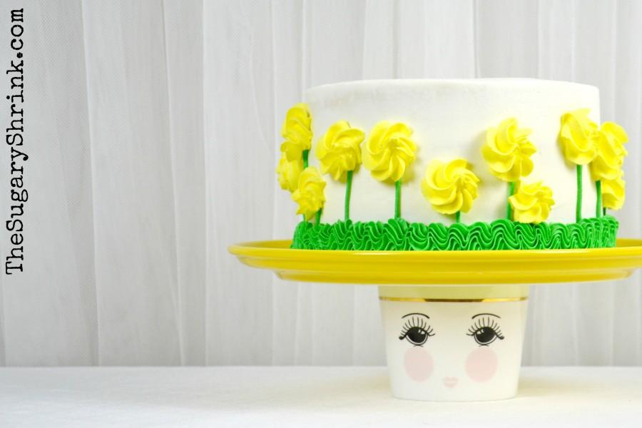 almond yellow rose cake 852 tss