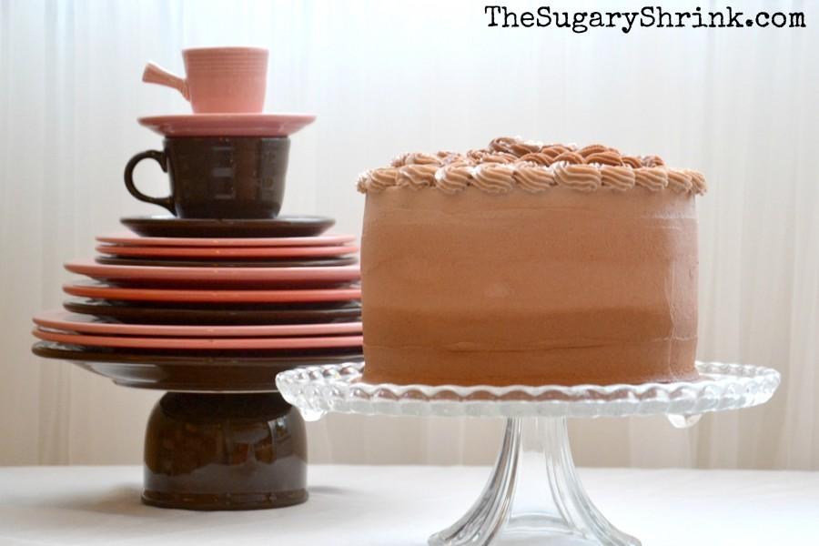 vanilla chocolate cake flowers 560 tss