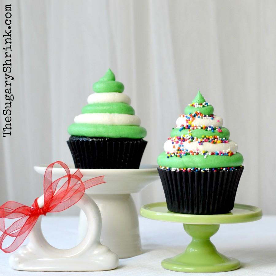 choc cupcake xmas tree stripe 428 insta