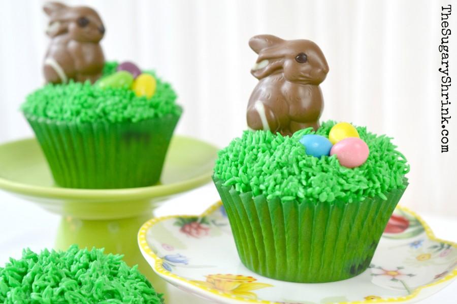 easter bunny cupcake 994 tss