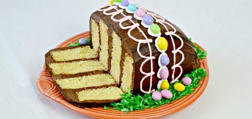 vintage easter egg cake tss 063 name