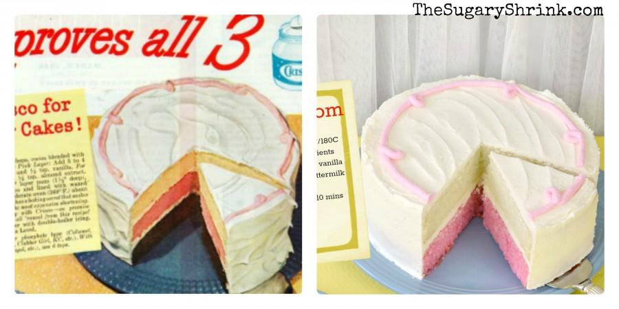 vanilla pink vintage ad tss