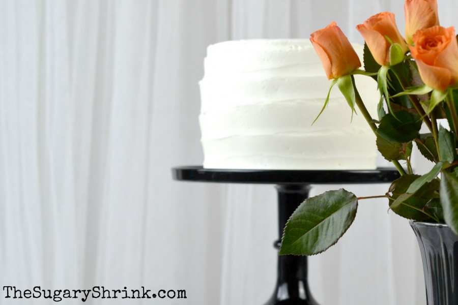 white cake orange rose 960 tss