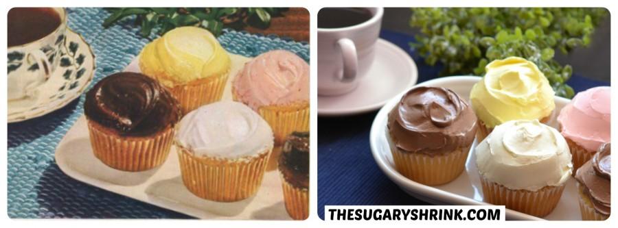 vintage ad cupcakes vanilla tss
