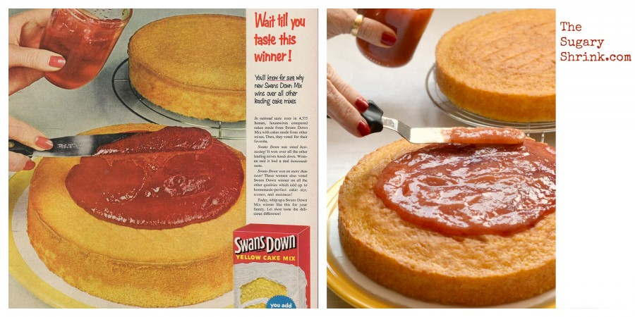 vintage cake ad jelly tss 799