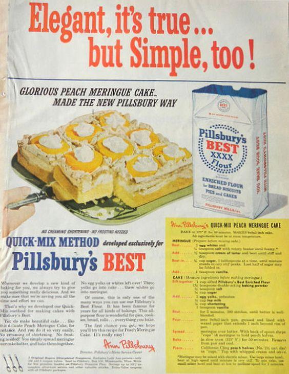 vintage ad cake pillsbury